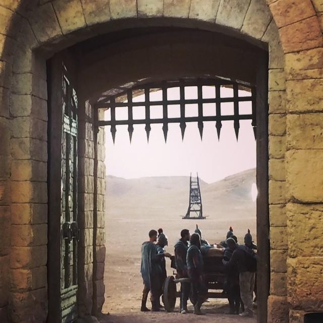 Atlantisz kapuja és egy ostrom torony, amit még Ridley Scott hagyott itt