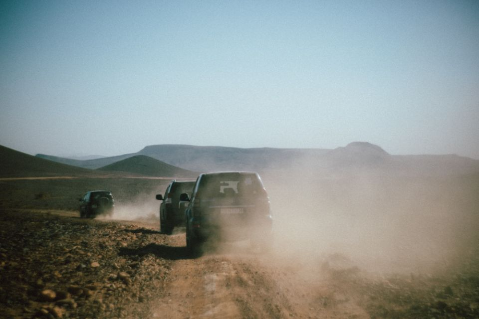 Átkelés a sivatagon.