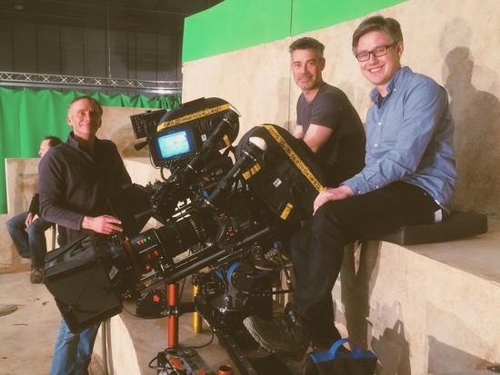 Az Atlantis második évadának kamera csapata