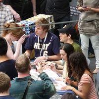 Teltház a londoni Merlin-találkozón
