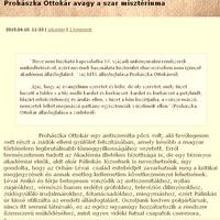 Keresztényellenes gyűlöletpropaganda az orulunkvincent.blog.hu-n