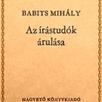 """Babits Mihály adaléka a """"Nemzeti Együttműködés Rendszeré""""-hez"""
