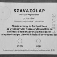 Népszavazás-dilemma, 2016. X. 2.