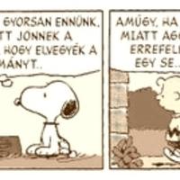 """""""Emelkedjünk egyszer már fel a történelmi áttekintés magaslatára..."""" (a)vagy Moody's Snoopy"""