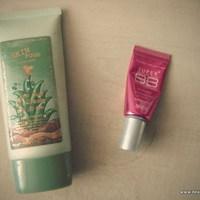BB máshol: Beautyjunkie - S79 Hot Pink vs. Skinfood Aloe