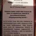 BB máshol: Smink és más - Missha Perfect Cover #27