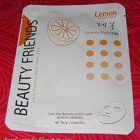 BB máshol: Hard Candy - Beauty Friends maszk, citromos