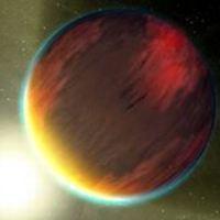 Egy exobolygó fénye