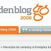 GoldenBlog 2008 - még tart a nevezés