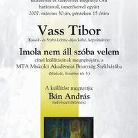 Vass Tibor kiállítása