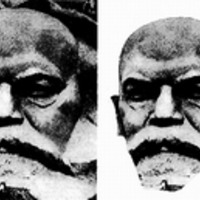 Lenin-maszk, Lenin-Marx - Pauer Gyula