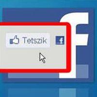 Facebook, tetszik
