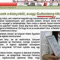 Miért tiltakozna Gutenberg?