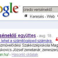 A Google tudhat valamit