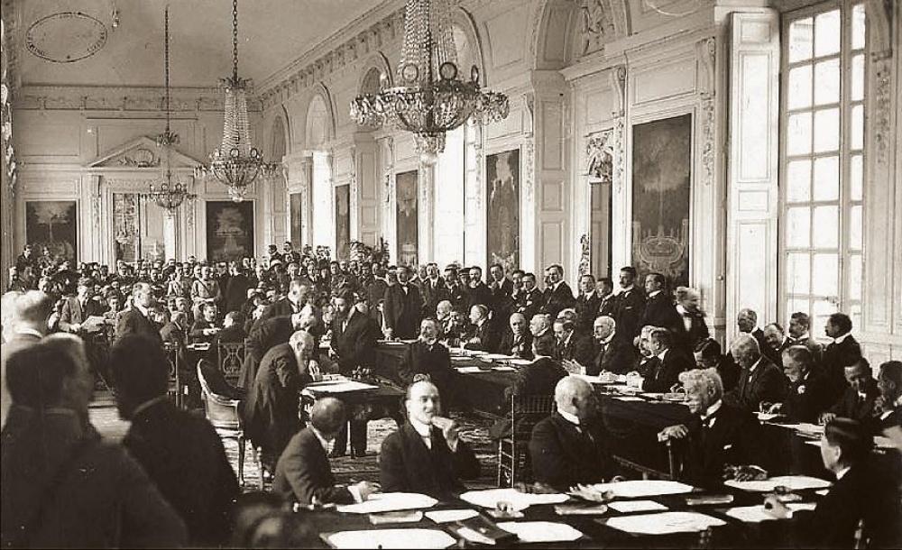 nagy trianon palota békeszerződés