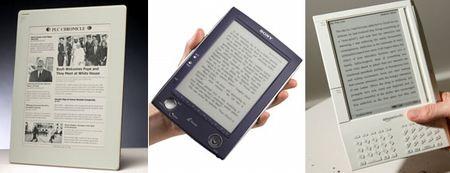 e-papir, könyv olvasó