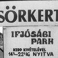 """""""Nem gyenge erősítés"""" – a Csepeli Ifjúsági Park"""