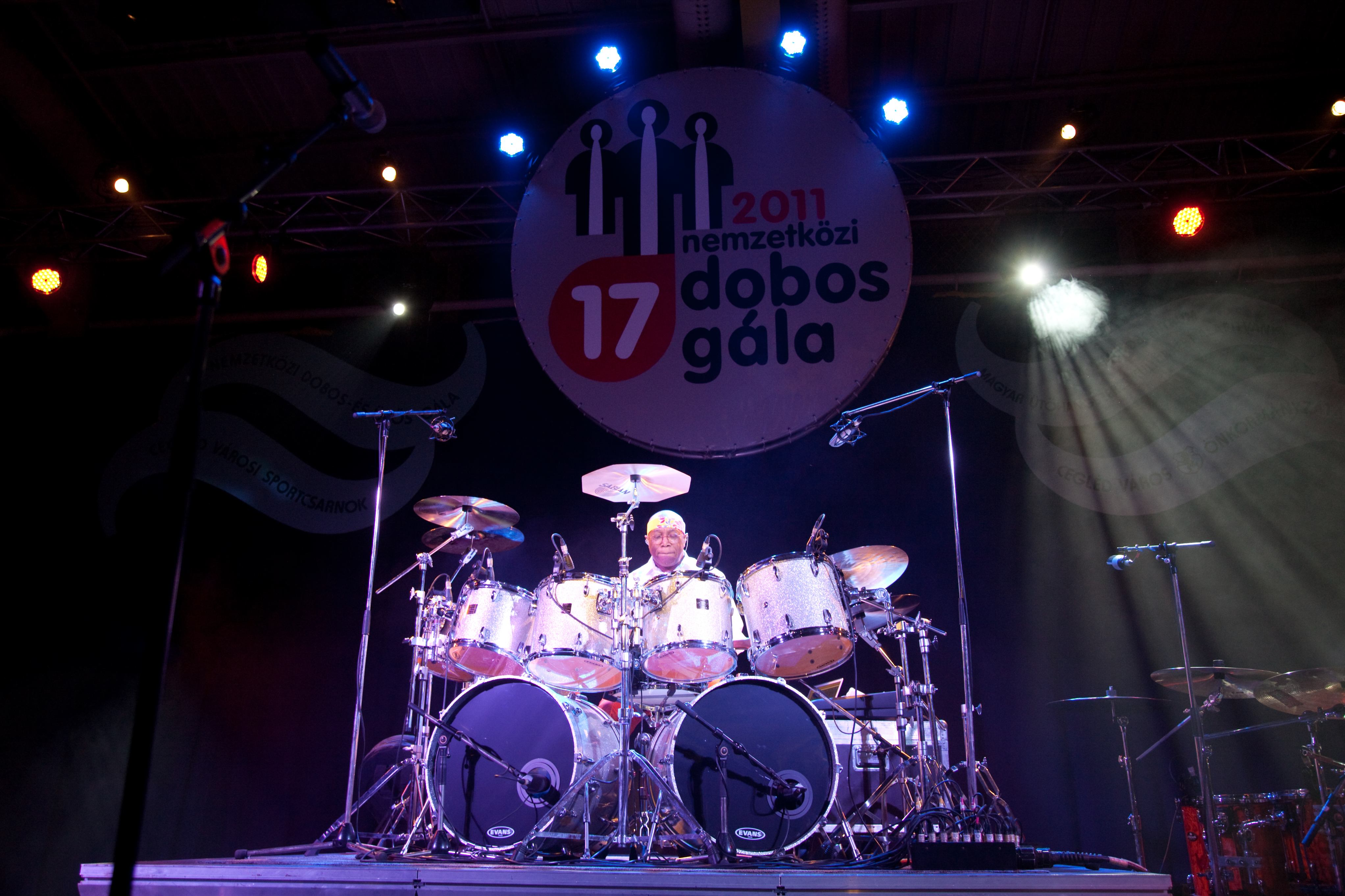 Billy Cobham a 2011-es Nemzetközi Dobosgálán