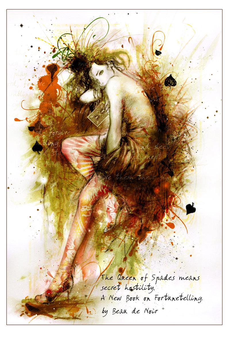 Queen of SPADES by Beau de Noir