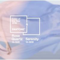 A 2016-os év esküvői divatszínei a rózsakvarc és a derűs kék, avagy megérkeztek a jövő évi Pantone színek