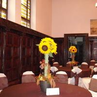 Napraforgók egy őszi esküvőn