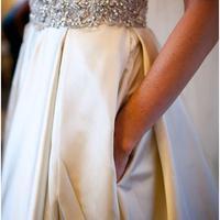 Menyasszonyi ruha zsebekkel...