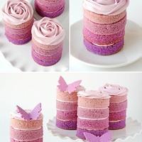 Rózsaszín sütik