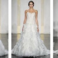 Esküvői ruha divat 2012 ősz - Lazaro