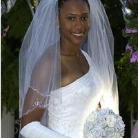 Gyönyörű menyasszonyi csokrok porcelánból