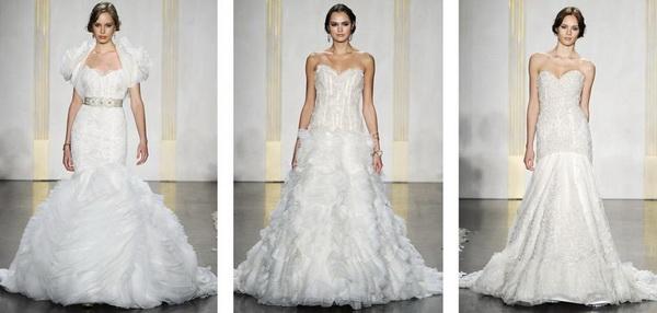 c02d4a0070 Esküvői ruha divat 2012 ősz - Lazaro - Beautiful Wedding ...
