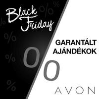 Fekete kedvencek akcióban Black Friday az AVON-nál