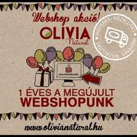 Olivia webshop szülinap