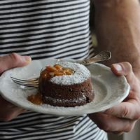 Csokoládéláva (Moelleux au chocolat/chocolate lava cake)