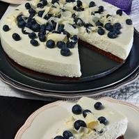 Fehércsokoládé mousse torta