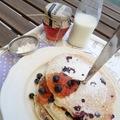 Áfonyás pancake