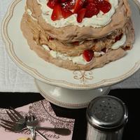 Epres pavlova torta