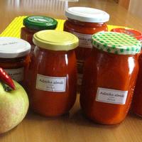 Adzsika almával – grúz szósz, ételízesítő