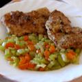 Porhanyós csirkemell zellerszár-körettel