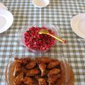 Ropogós sült csirkeszárny