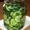 Erjesztett (fermentált) uborka – sós-vizes uborka, gyors, hűtős változat