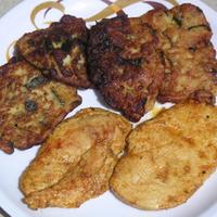 Cukkinis lepény csirkemell-szelettel