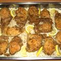Citromos sült csirkecomb