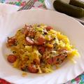 Reszelt krumplis pite vagy pirog vagy quiche