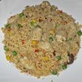 Csirkemell zöldséges rizzsel – maradékból