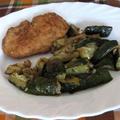 Csirkemell-szelet grillezett cukkinival