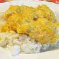 Narancsos, gyömbéres, tejszínes csirkemell