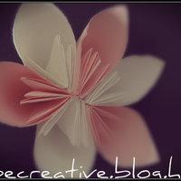 Virág hajtogatás