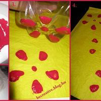 Virágos csomagolópapír