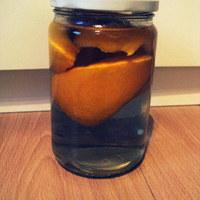 Kandírozott narancshéj csokiban