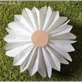 Virág papírtasakból